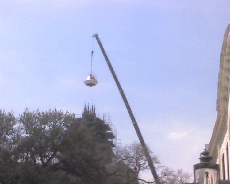 dome onto City Hall