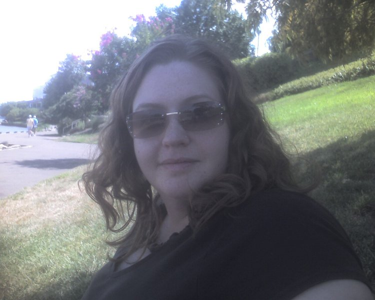 Jill at Potomac River