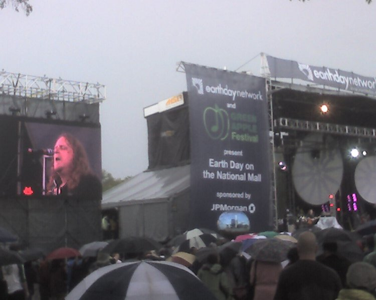 Warren Haynes at Earth Day
