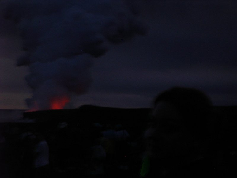 lava smoke