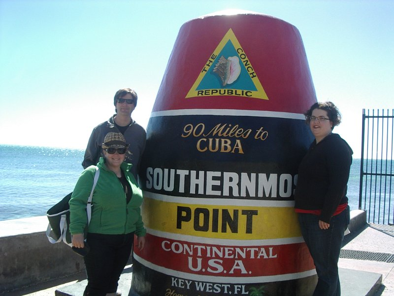 southernmost spot