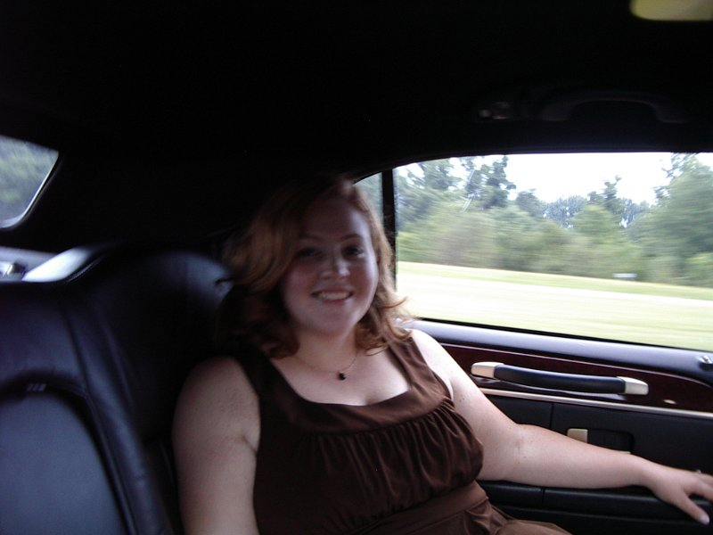 Jill in limo
