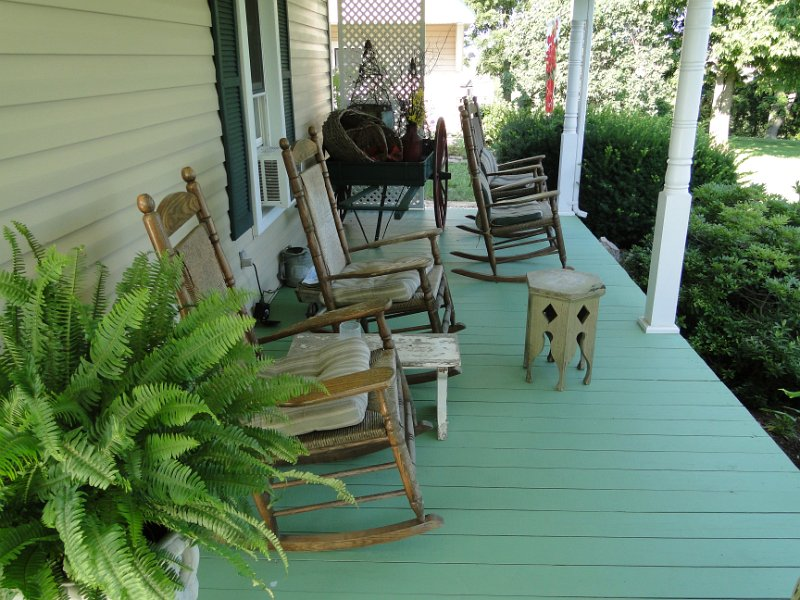 Piney Hill porch