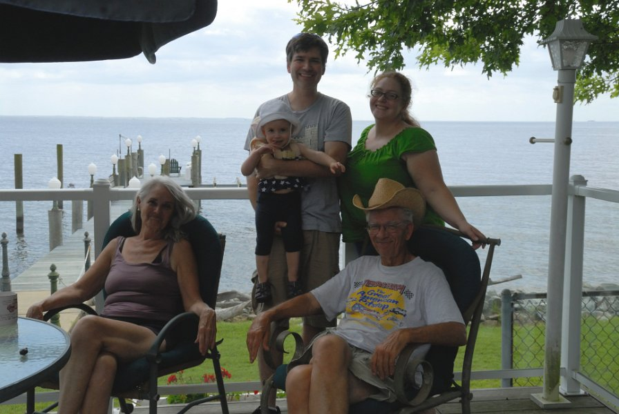 Us, Dad and Patricia