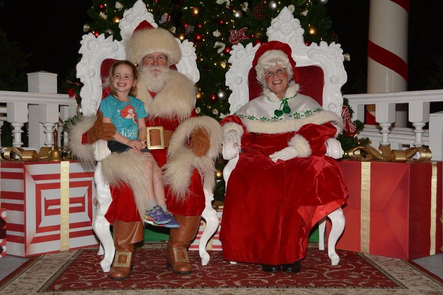 Nina Santa and Mrs. Claus
