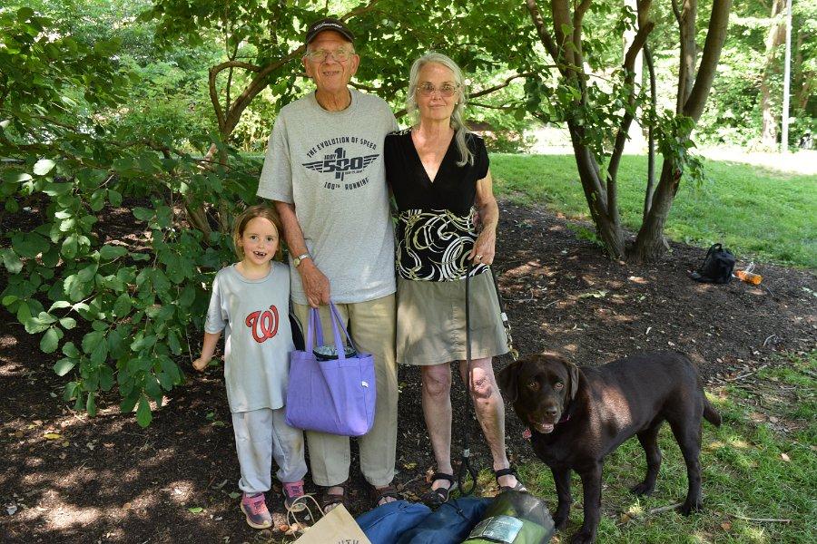 Nina, Dad & Patricia
