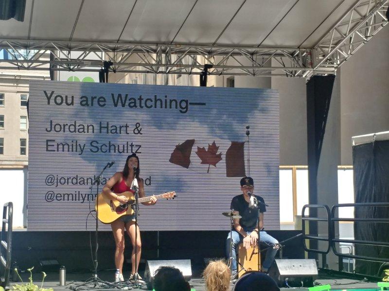 Jordan Hart & Emily Schultz